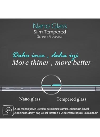 Microsonic Apple iPhone SE Ekran koruyucu Nano Cam (3'lü Paket) Renksiz